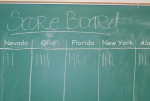 5 state score board