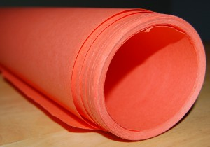rolled butcher paper
